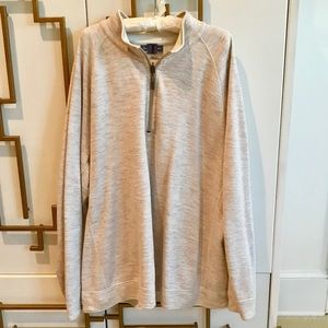 Tommy Bahama NWOT Tan Heather Pullover XXL